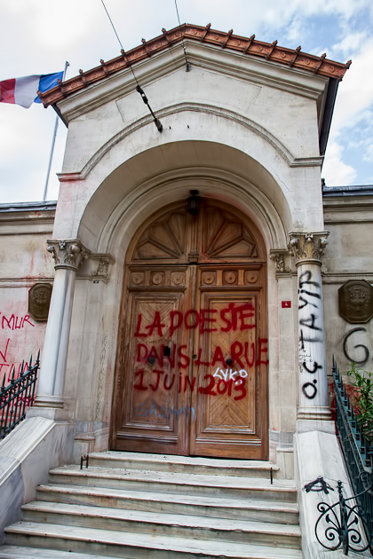 France Institue Occupy Istanbul