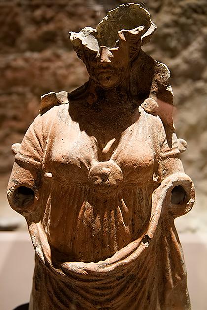 Byzantine-Statue