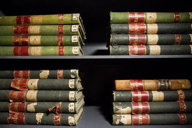 Ottoman Bank Book Keeping