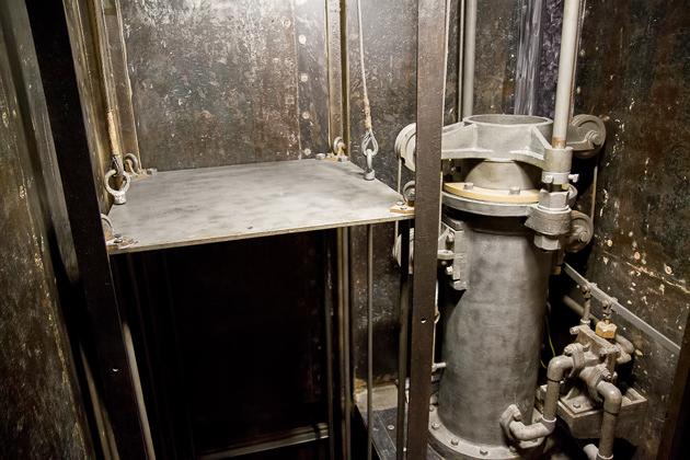 Ottoman Money Elevator