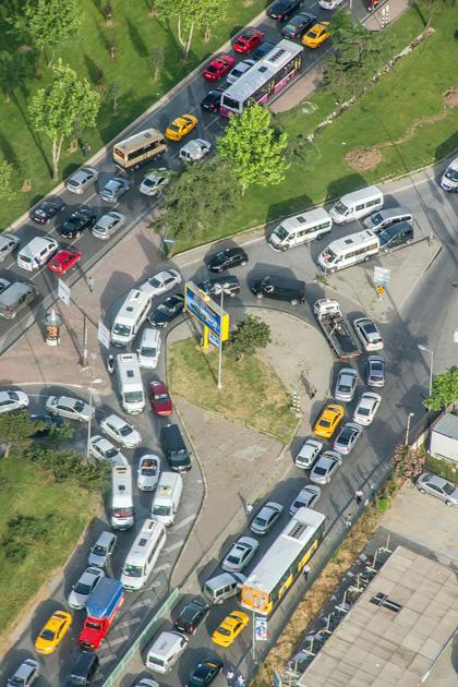 Traffic Jam Istanbul