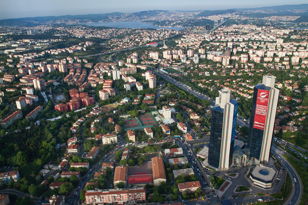 Skyscrapers Istanbul