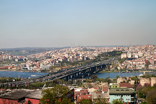 Bridge Over Over Golden Horn
