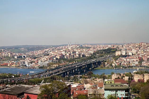 Bridge Over Over Golden Horn