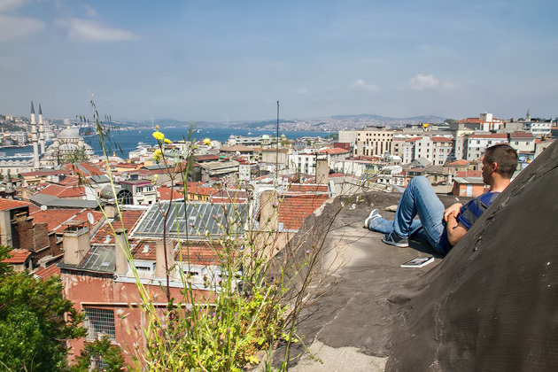 Relaxing In Istanbul