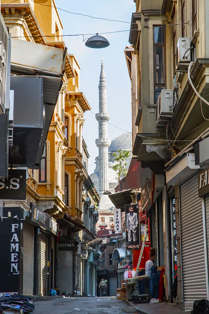 Empty Streets Istanbul