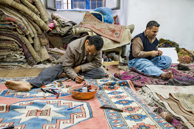 Fixing Carpets Istanbul