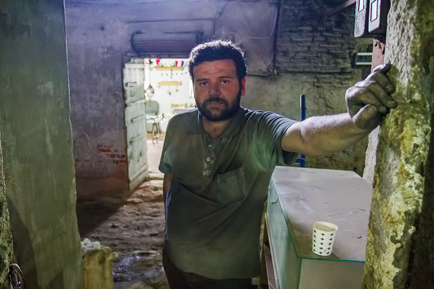 Worker In Istanbul