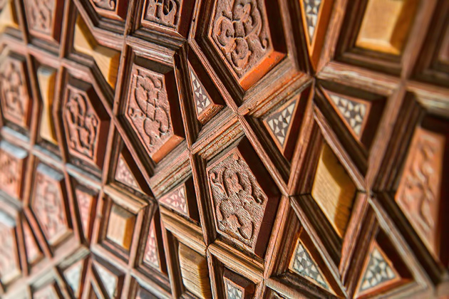 Süleymaniye Wood door