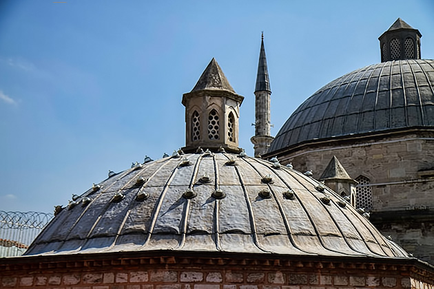 Hamam-Roof