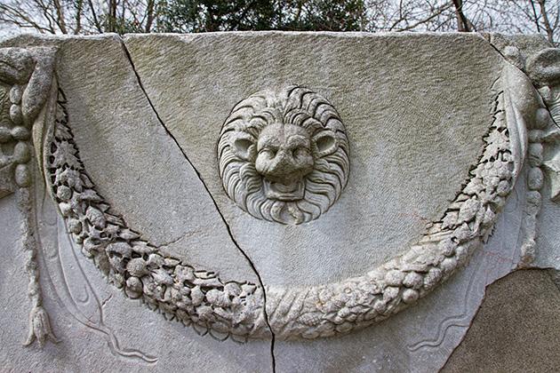 Lion-Stone-Head