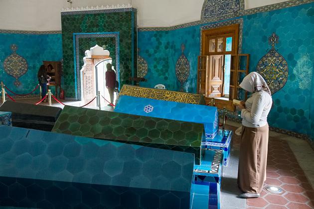 Tomb of Bursa Praying