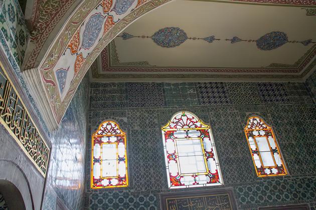 Mosaic Window Harem Istanbul