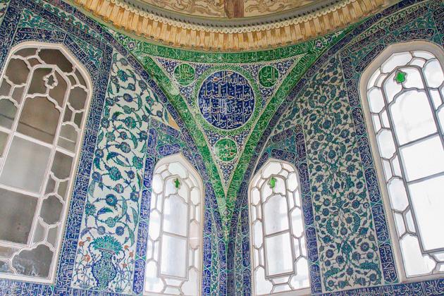 Green Tiles Harem Istanbul Topkapi