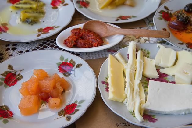 Istanbul Frühstück