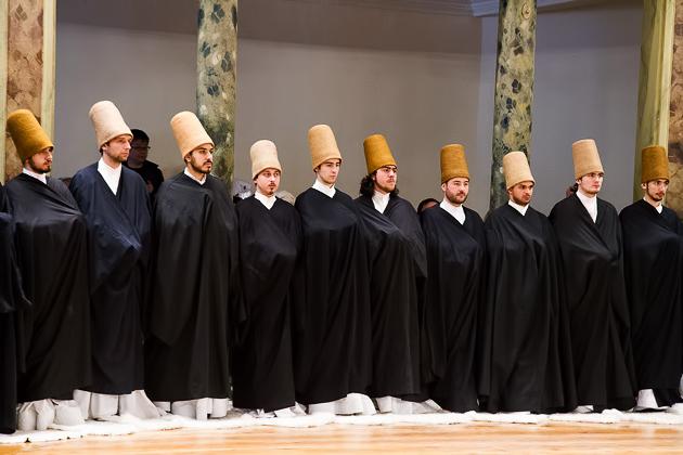Cloaked Dervish Dancers