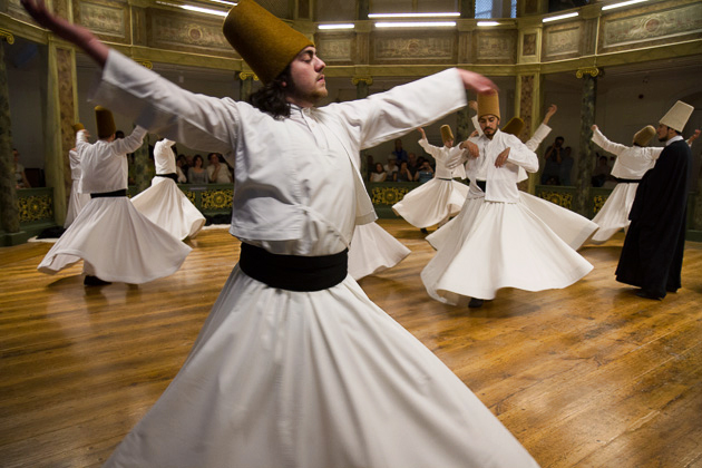 Travel Blog Whirling Dervishes