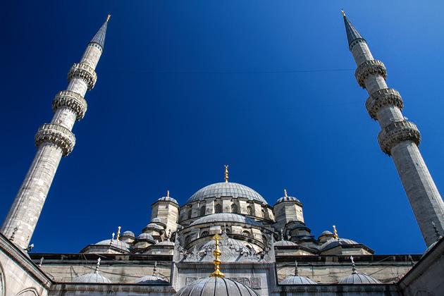 Minarets Yeni Camii