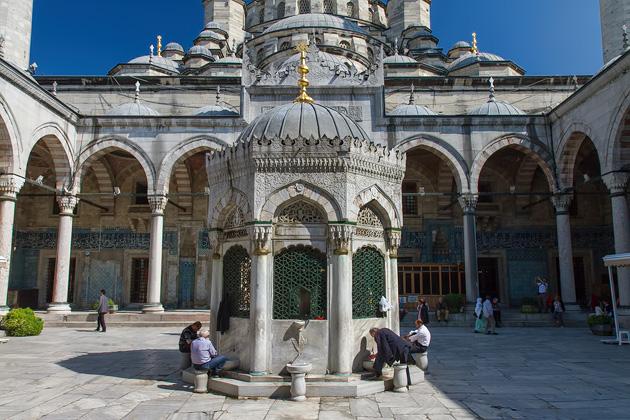 Courtyard Yeni Camii