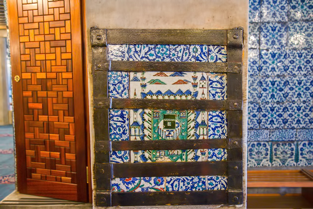 Secured Tiles Istanbul