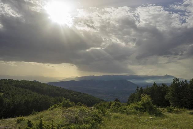 Gondola To Vodno Mountain
