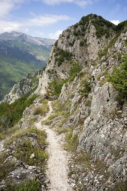 Hike from Jan?e to Gali?nik