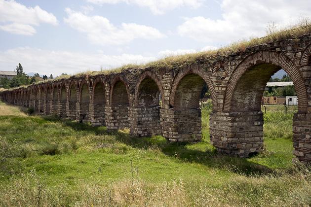 Aqueduct In Skopje