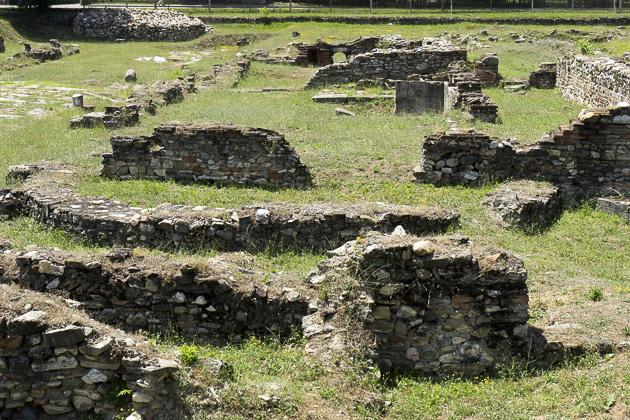 Skupi Roman City Near Skopje