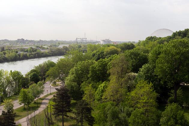 Jacques Carier Bridge Montreal