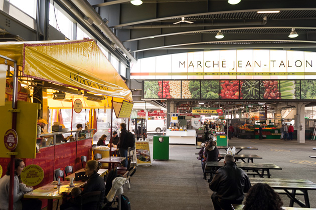 The march jean talon montreal for 91 days for Meubles montreal jean talon