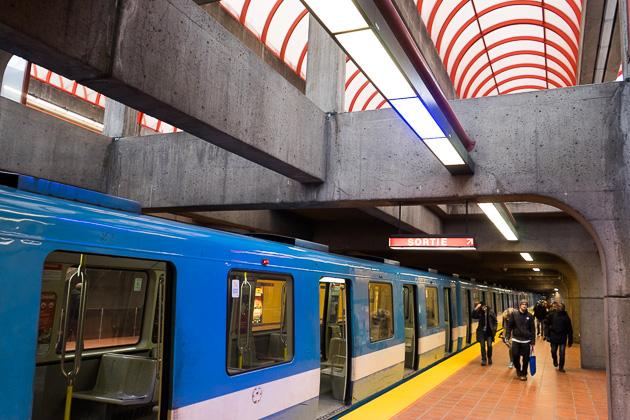 Montreal Metro Agrignon