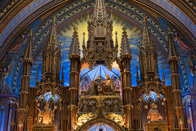 The Notre Dame Basilica Montreal For 91 Days