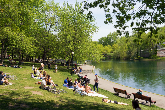 Parc Lafontaine Montreal