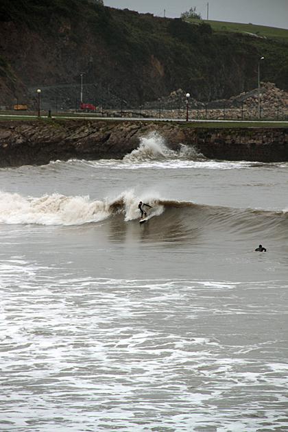 Surfing Asturias
