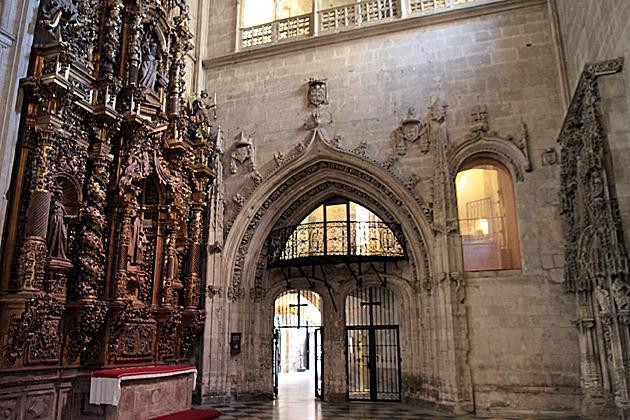 entrada camera santa