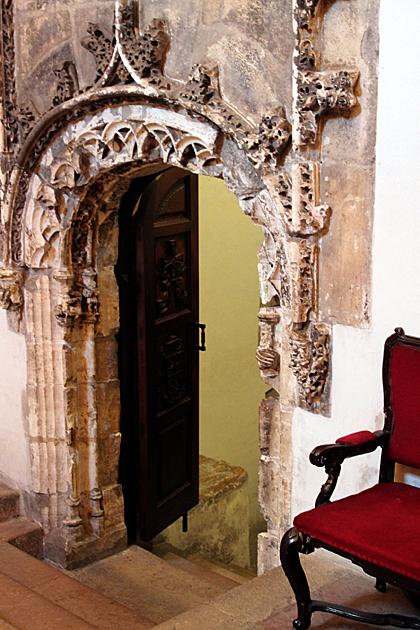 entrance camera santa