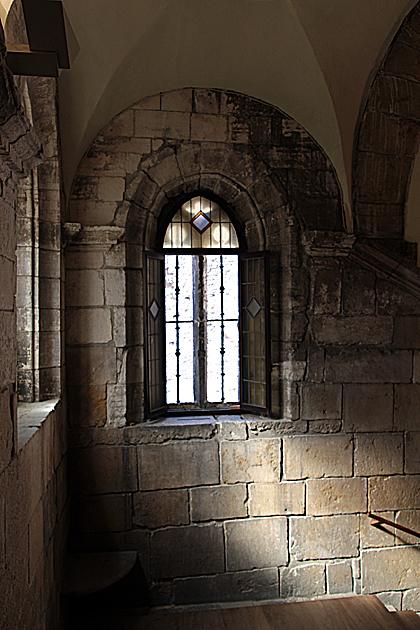 stairs camera santa