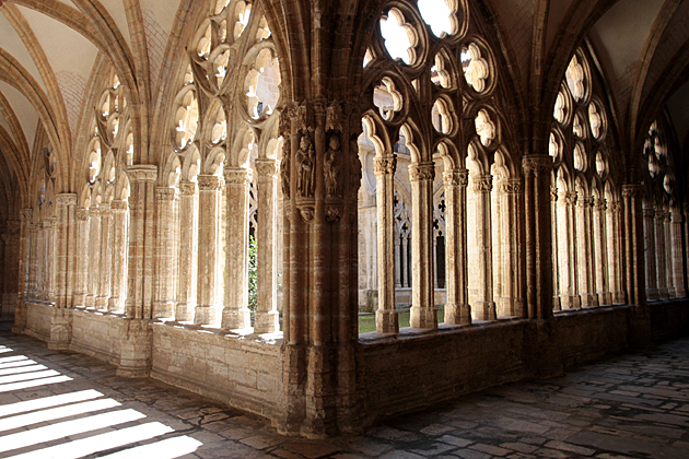 Gothic Cloister Oviedo