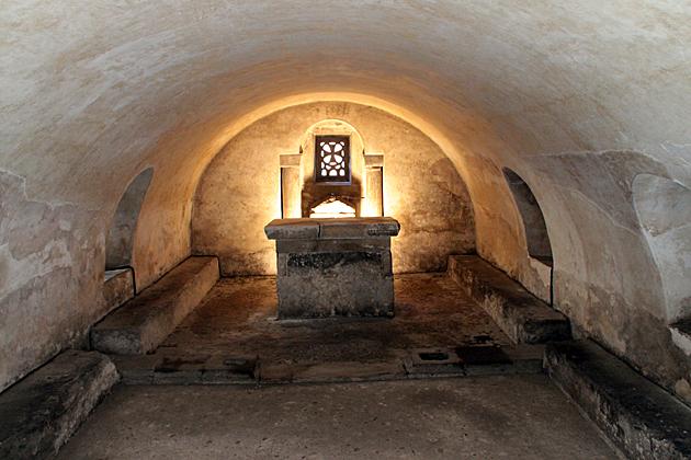 Crypt Saint Leocadia