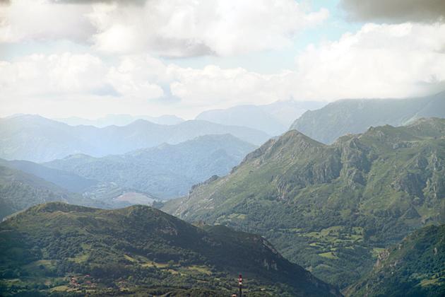 Mountain Around Oviedo