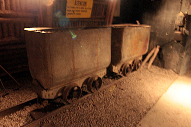 Train Coal Asturias
