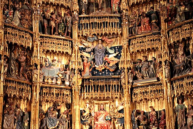 Gothic Altar Piece Oviedo