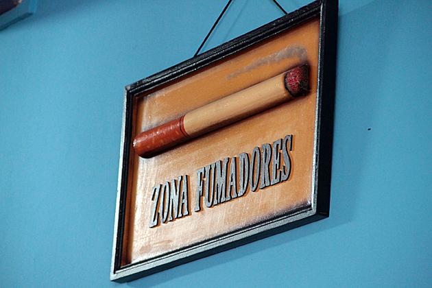 zona fumadores