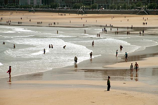 Beach Summer Gijon