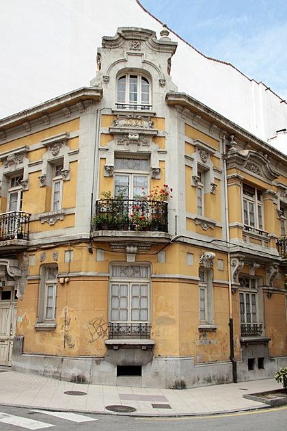 Traditional Buildings Oviedo, Asturias