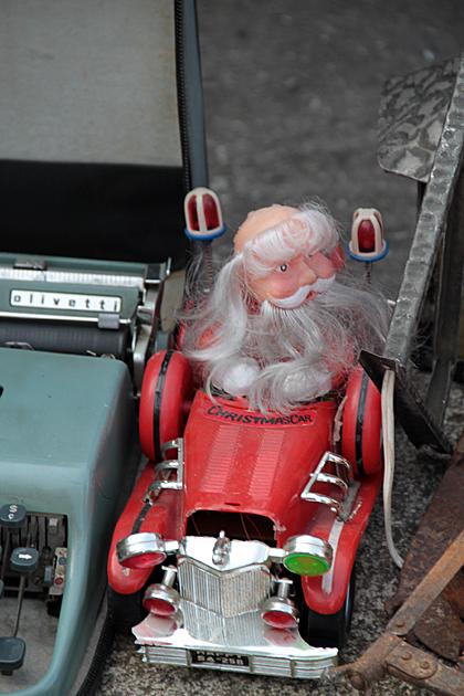 Santa Claus Firetruck