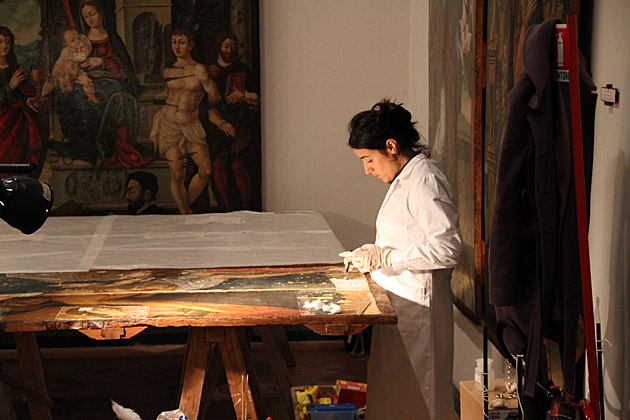 Restauration Paintings