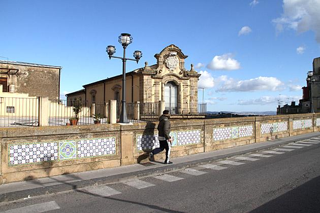 Jogging in Sicily