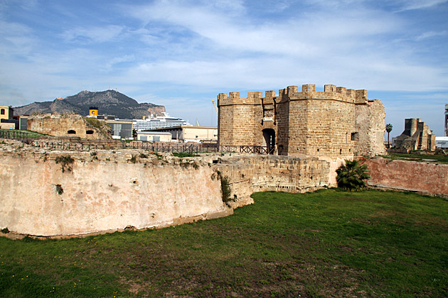 Sea Castle Palermo Sicily