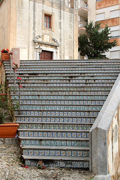 Tiles Stairs